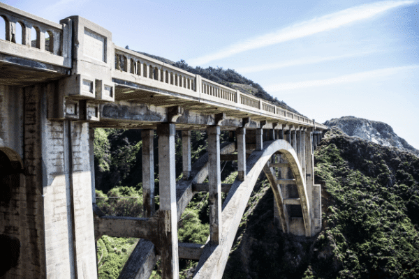 Santa Giustina Railway Bridge, Italy