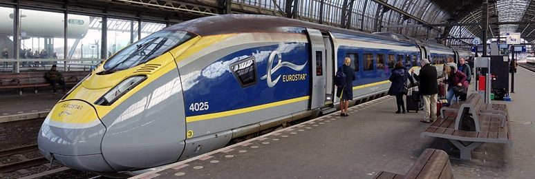 London To Paris In 2hrs 16mins By The Eurostar Train