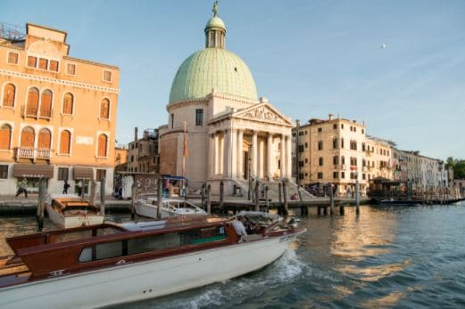 how to get to Venice by train for Easter