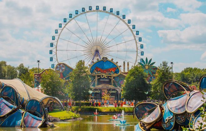 Tomorrowland site Train wheel picture