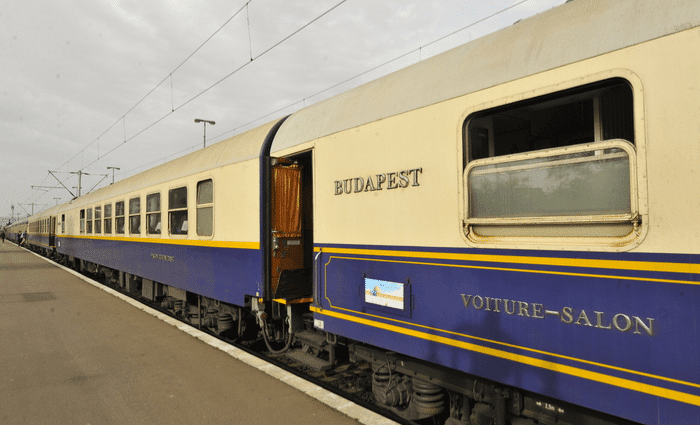 Luxurious Trains in budapest