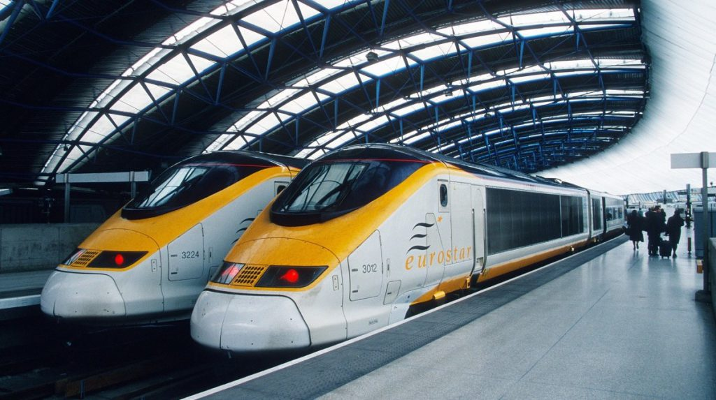eurostar London til Paris tog