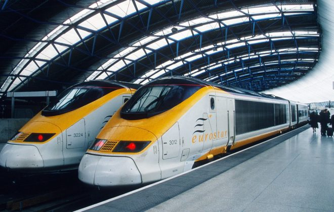 Eurostar london paris tren