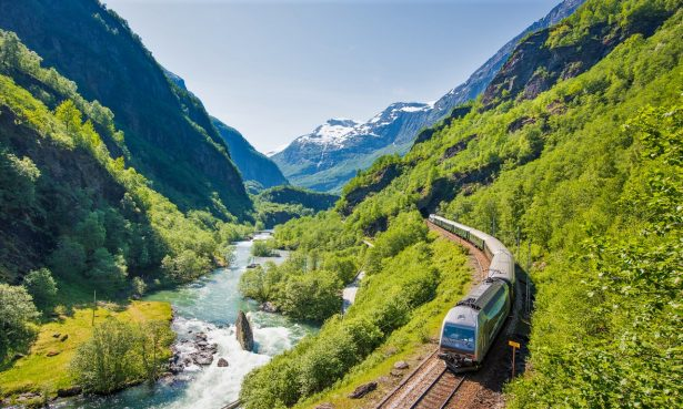 norway train travel