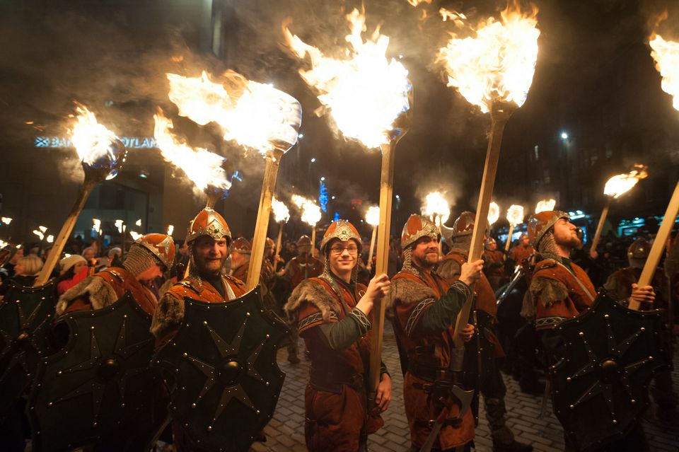 Scotland Hogmanay is a very unique among Winter Festivals in Europe