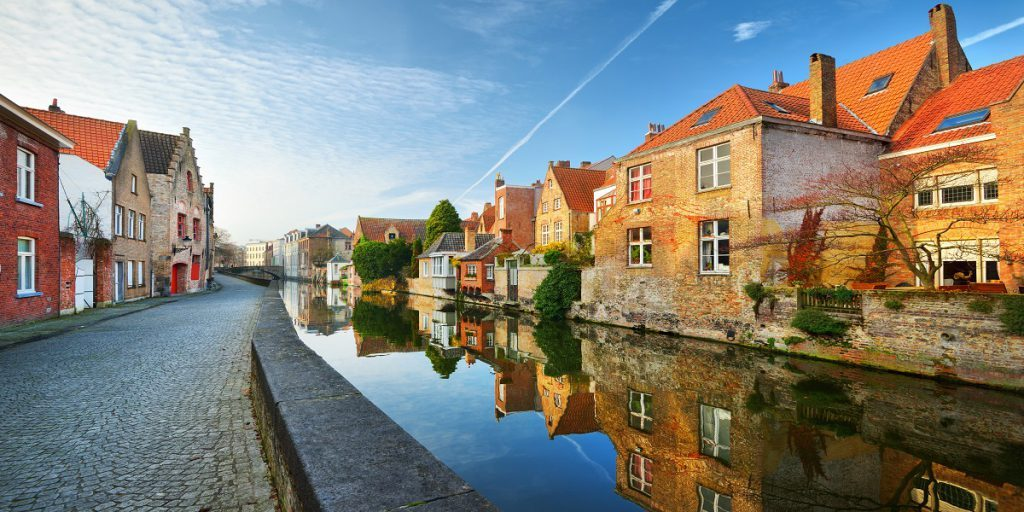 Bruges yek ji Best Bajêr to Visit ji bo Thanksgiving e