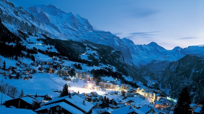 Switzerland Ski Resorts Don Ziyarci By Train