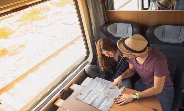 Train Travel as a Nomad and meet new friends