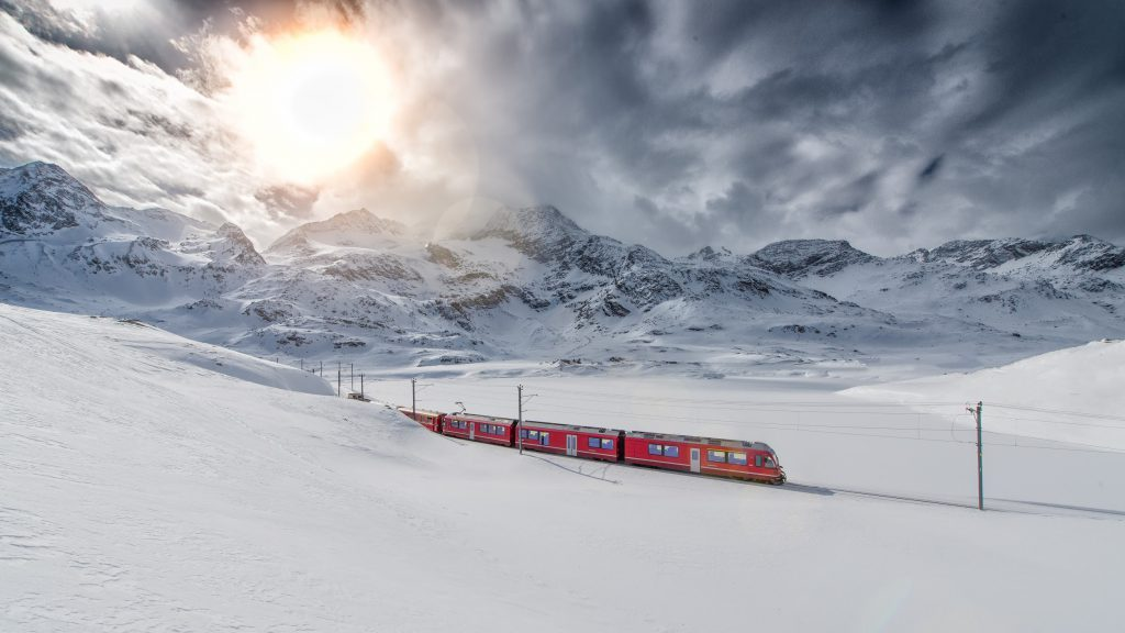 snow conditions when Train Travel in Winter to Paris