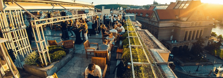 prague rooftop, pick your own rooftop when you plan a trip to europe