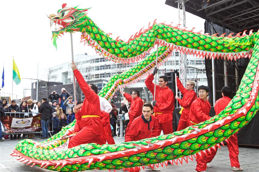 Hoʻolauleʻa Chinese New Year ma Europe, ka Haag