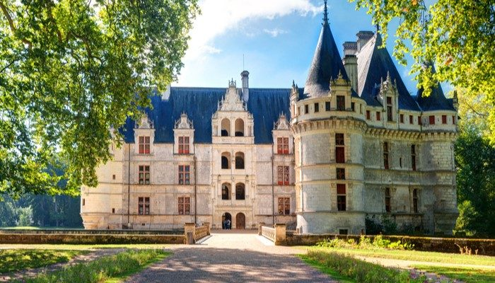 Charming Castles in France - Chateau d'Azay-le-Rideau