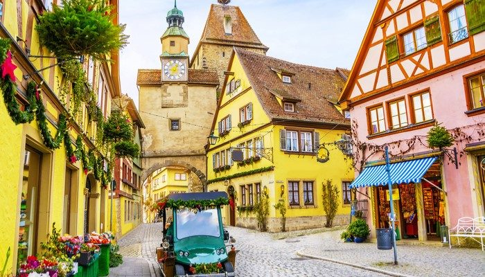 Rothenburg germany city image