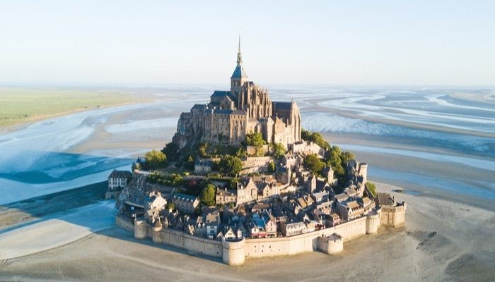 Pransiya ang UNESCO Mont-Saint-Michel France