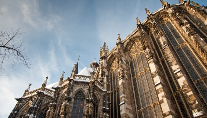 Aachen Cathedral In Germany