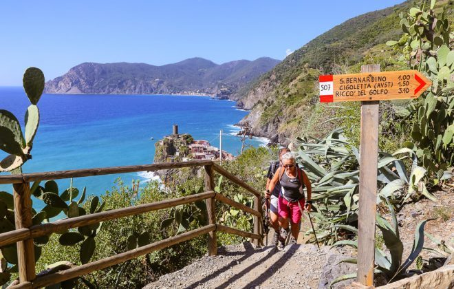 Hiking Start Start Points prezentas bildon