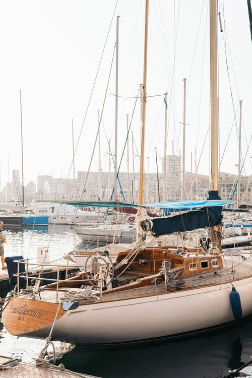 Boot in Marseille Hafen