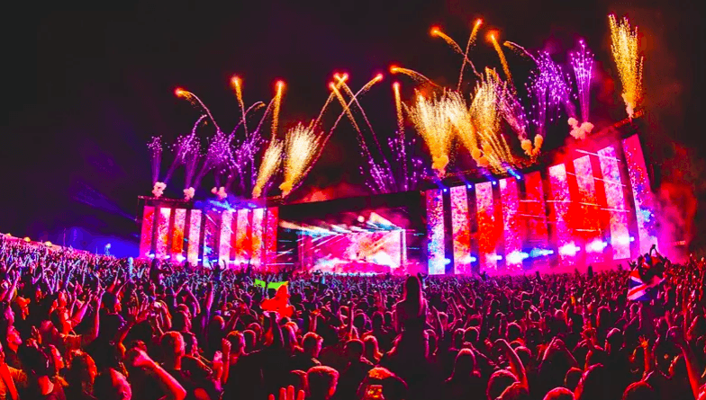Mainstage of Creamfields Daresbury United Kingdom