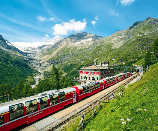 Best European train routes views
