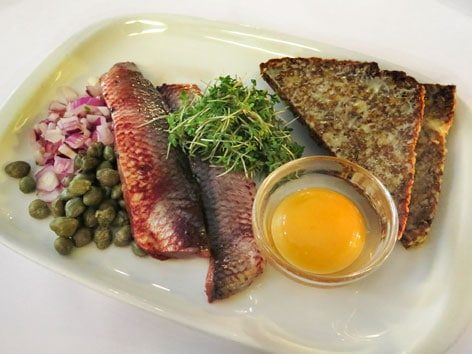Herring is one of The most interesting local food to try in Europe