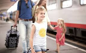 All the family should read Tips for traveling by train with kids