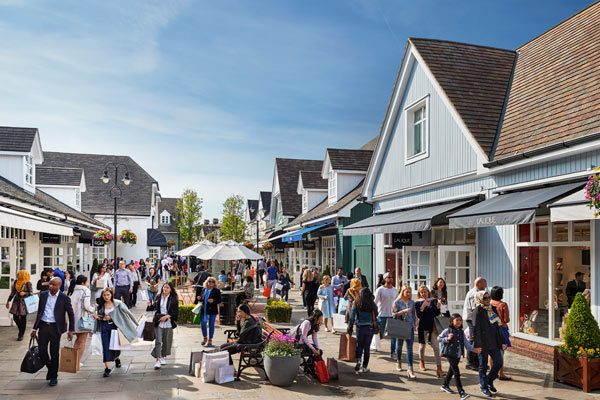 Et exitus UK Shopping Village Bicester optimus in Europa