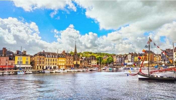 Mga Fairytale Towns sa normandy