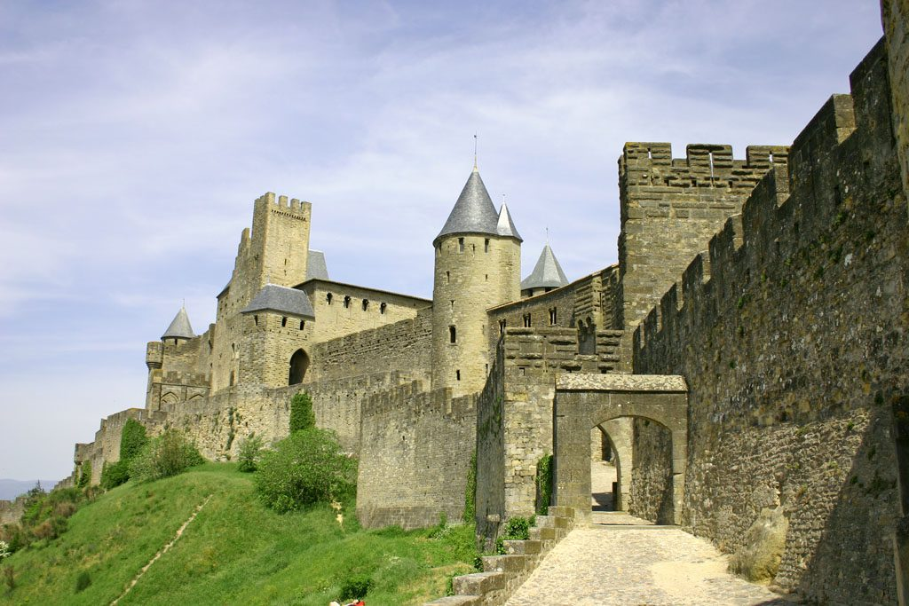 Carcassonne is a Beautiful Medieval Town in France