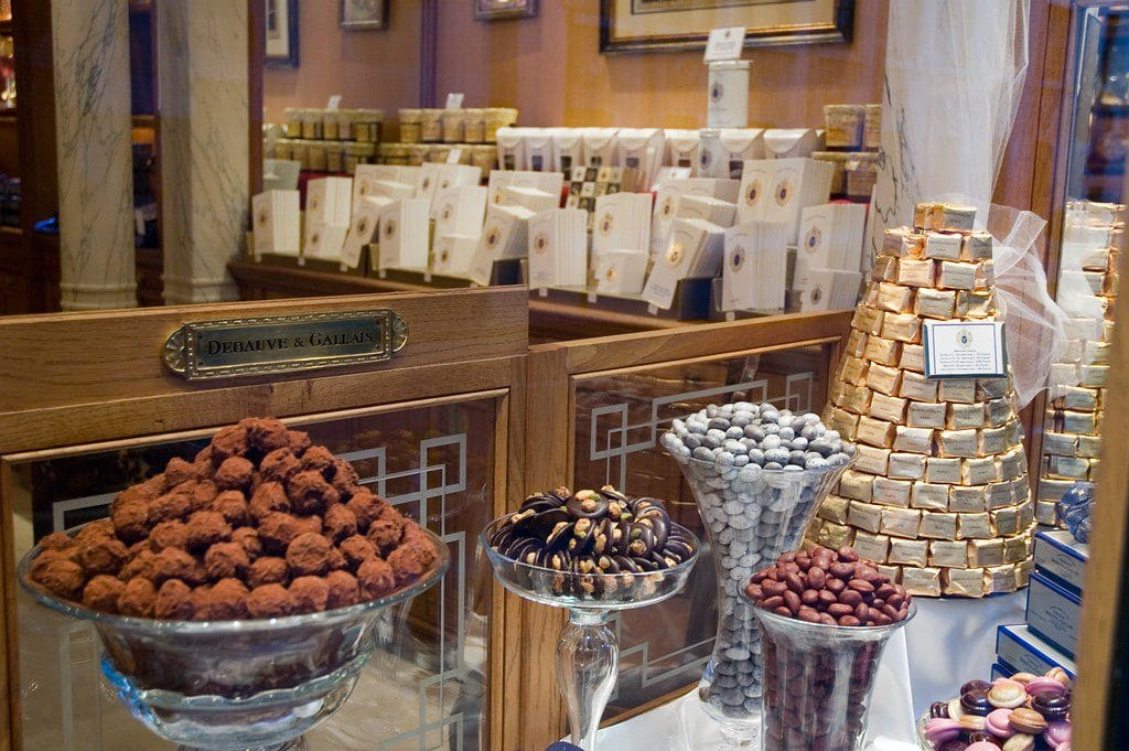 Debauve and Gallais Chocolate Paris