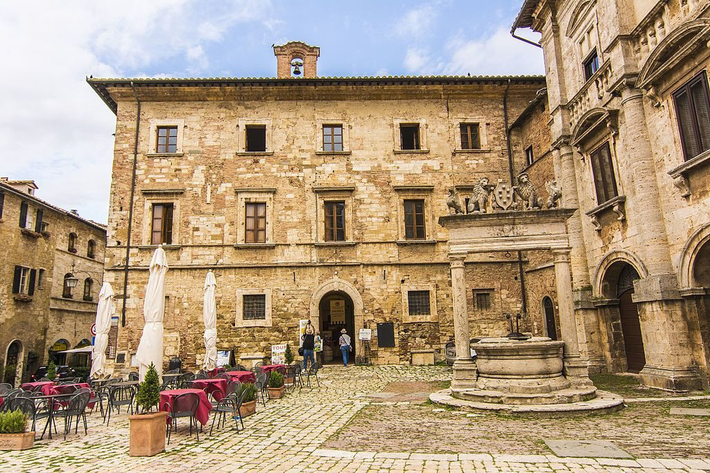 Montepulciano Italy old city