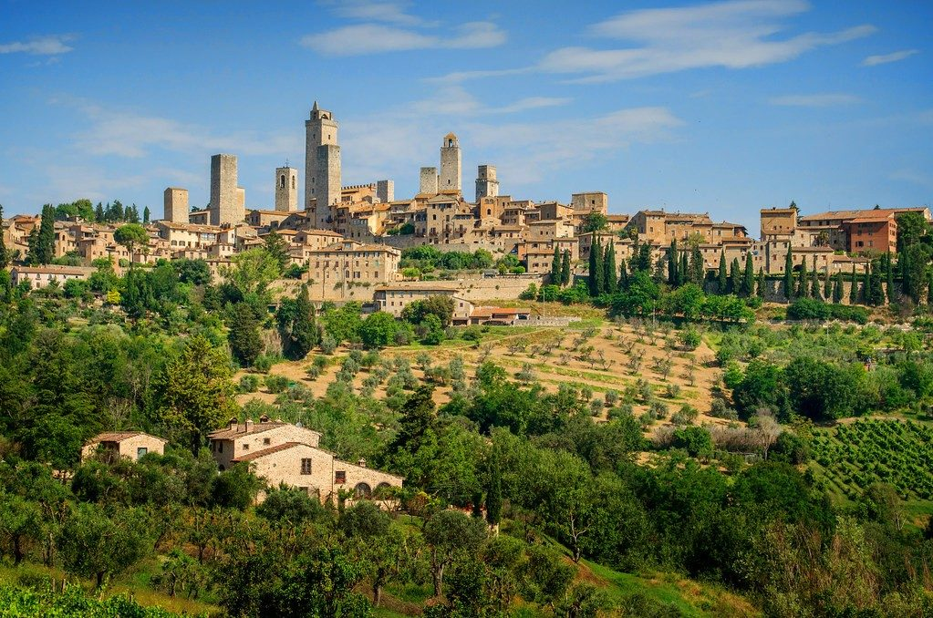 Most Beautiful Medieval Town In Europe - San Gimignano Italy