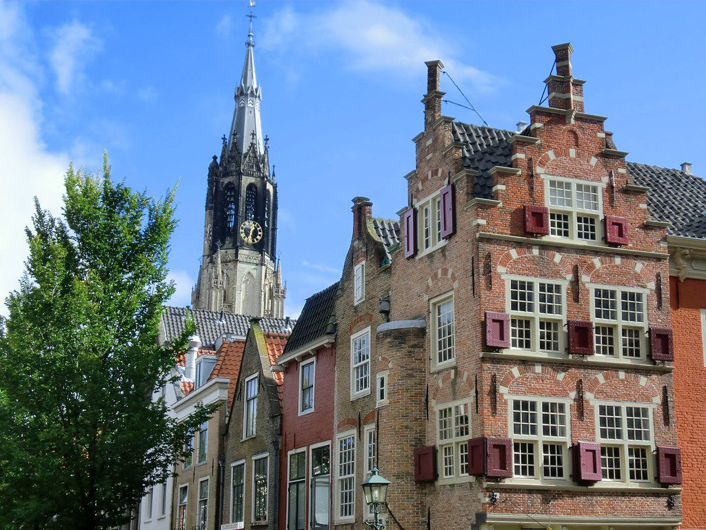 Delft The Netherlands waa Town Qarniyadii Beautiful