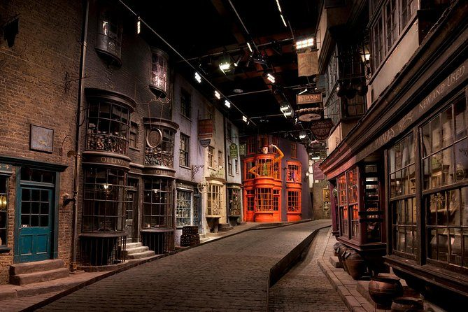 Studio tour while on Harry Potter Weekend in London