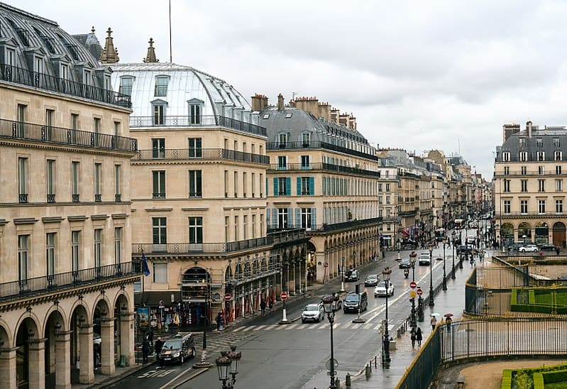 Rue De Rivoli Most Famous streets in Paris