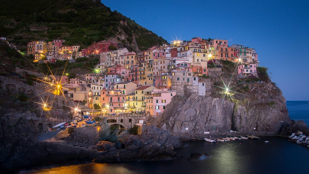 Manarola to Cinque Terre by Train