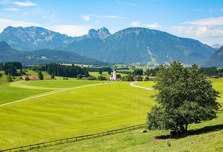 Itinerary in bavaria germany