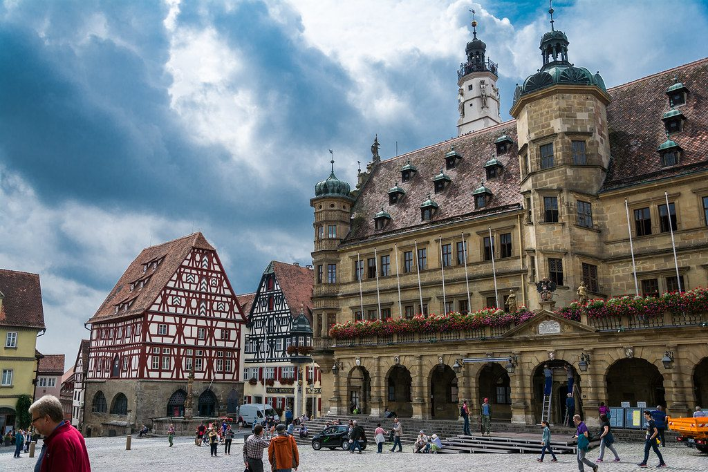 Rothenburg Itinerary in bavaria germany