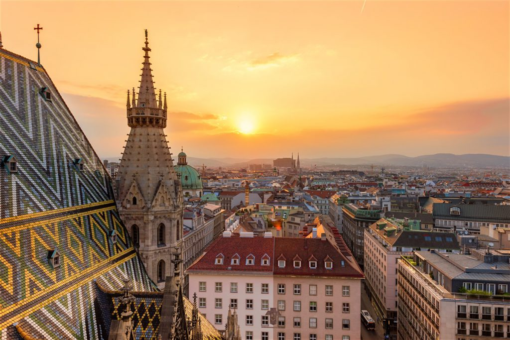 Vienna is a stop on your European Highlights By Train