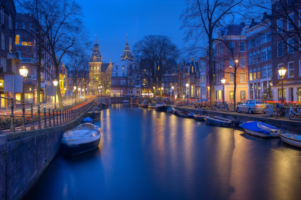Amsterdam Best European capitals for train travel