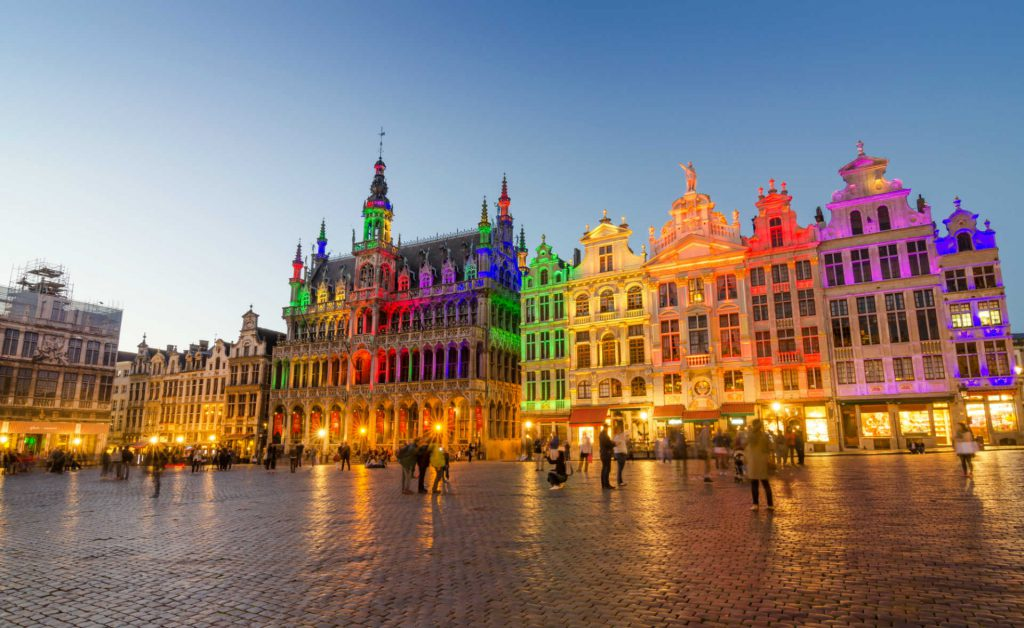 Colorful Brussels, Belgium