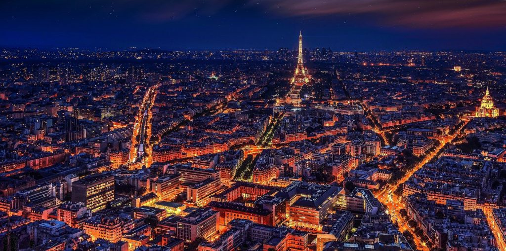 Paris Best European capitals for train travel