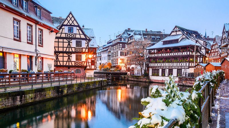 Strasbourg is on the European Highlights By Train