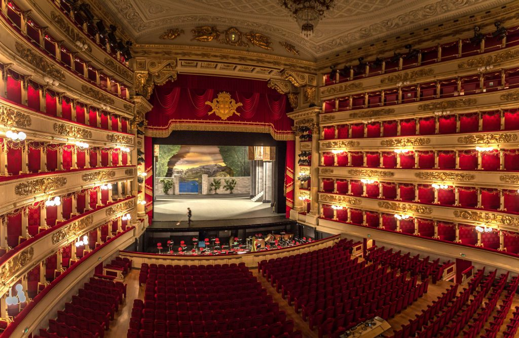 Teatro Alla Scala of Italy is on the list of Famous theatres in Europe