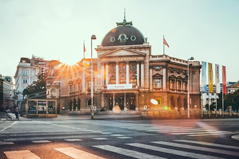 Volkstheater in Vienna is on the list of Famous theatres in Europe