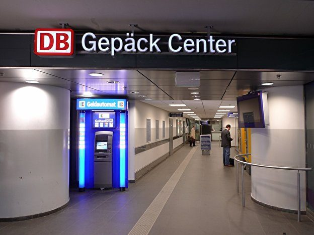 DB Left Luggage Lokasi di Jerman
