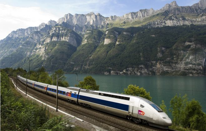 scenic France travel by trains
