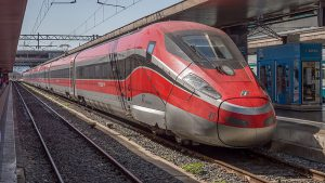 Trenitalia high-speed train