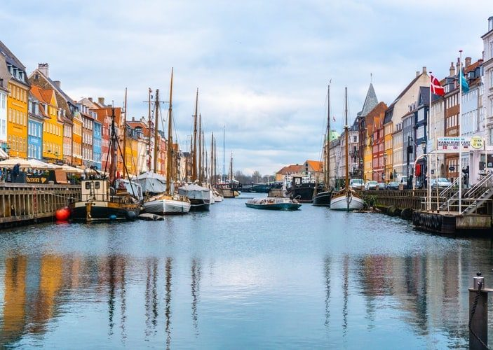 Train Route Maps Guide to Copenhagen