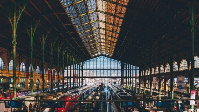 Gare Du Nord, Paris is the busiest train staion in europe