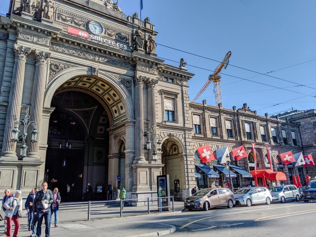 Zurich HB, Switzerland is one of the Top 5 Busiest Train Stations In Europe